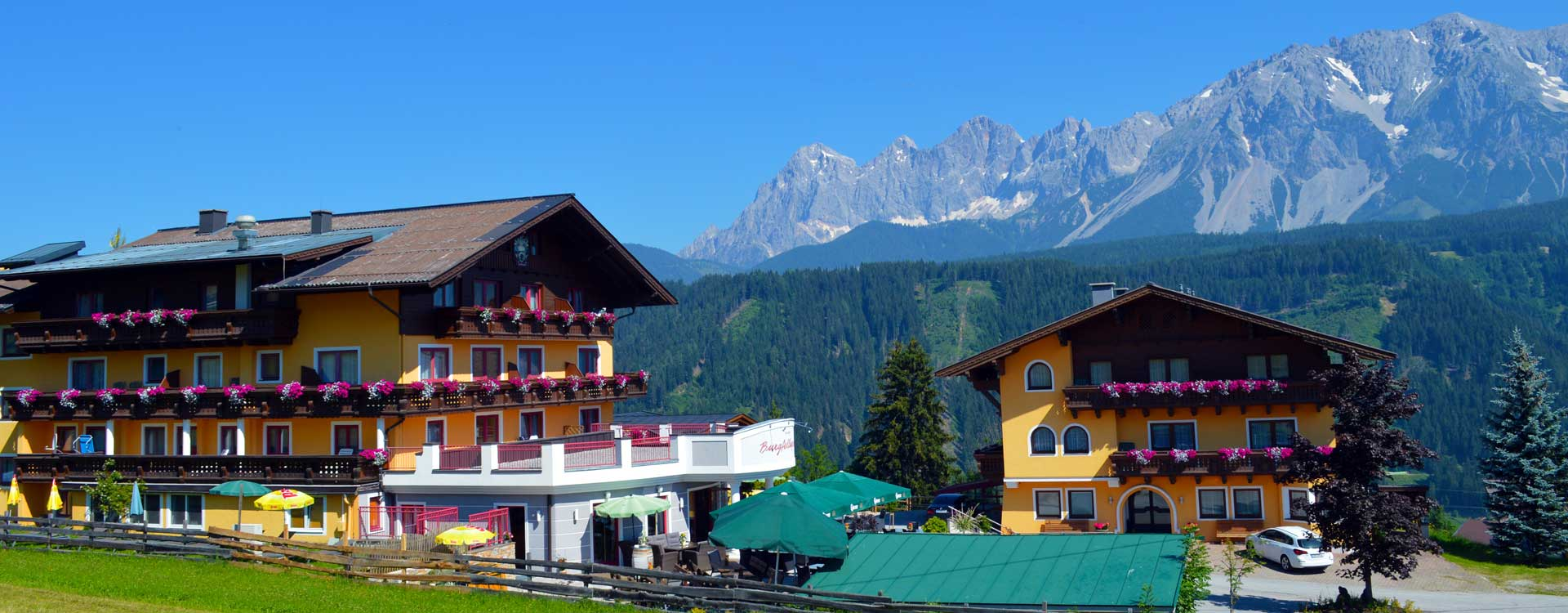 Sommerurlaub ohne Kinder im Adults-Only Hotel in Schladming